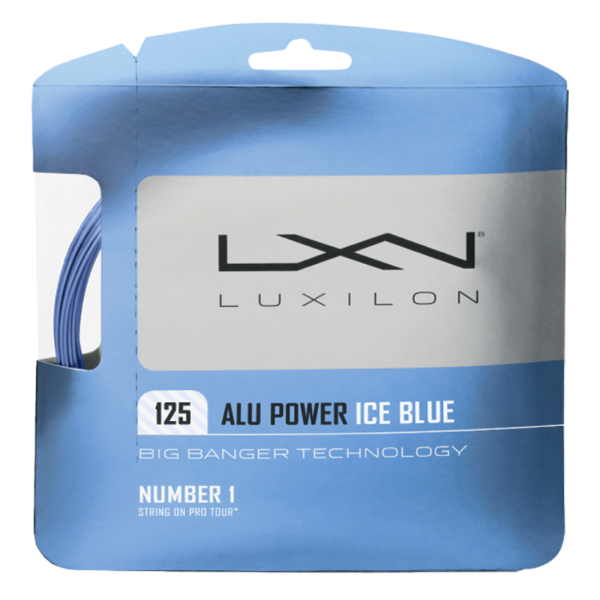 Luxilon ALU Power 125 Ice Blue