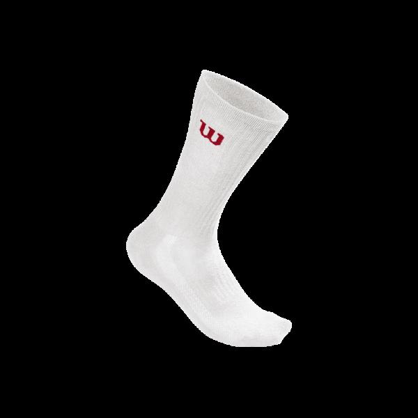 Meias Wilson ACC_Crew_Sock_M_White
