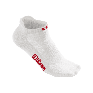 Meias Wilson ACC_No_Show_Sock_W_White