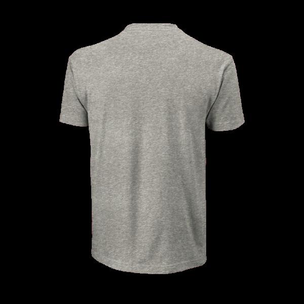 T-shirt Core_Script_Cotton_Tee_M_HeatherGray_PurplePotion