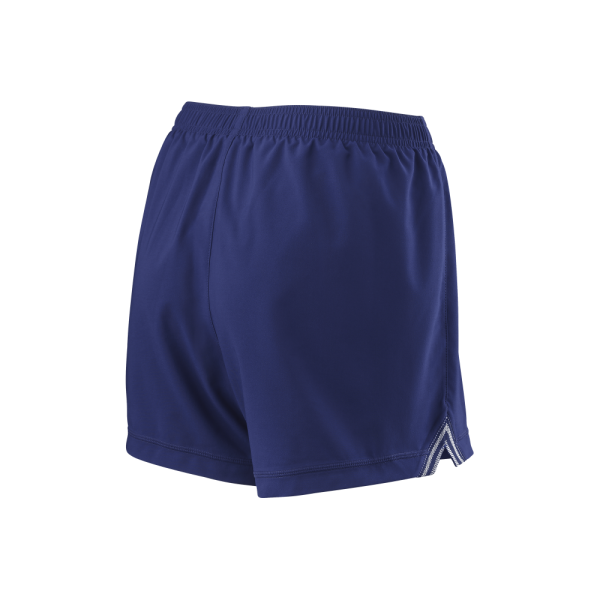 Calçoes de ténis Team W 3 5 Short Womens BlueDepths