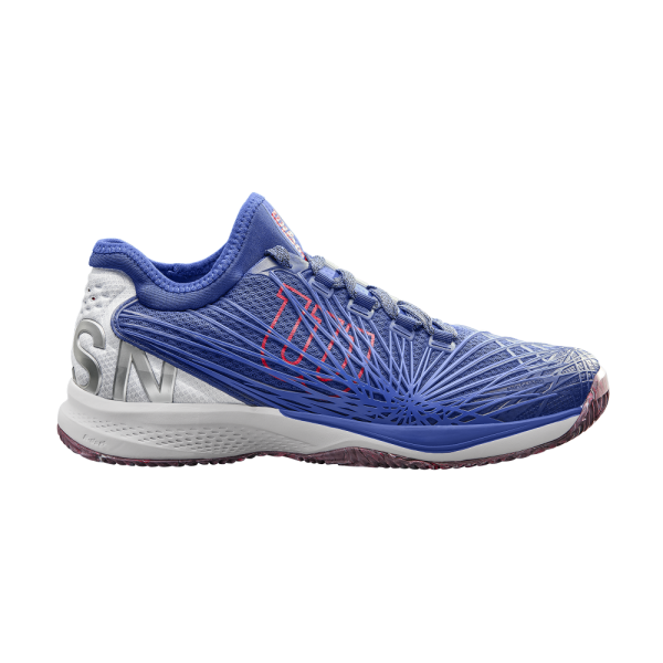 Wilson KAOS 2.0 SFT Mazarine Blue / White / Neon Red (All Court)