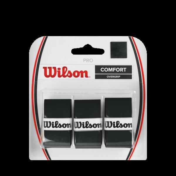 Wilson PRO OVERGRIP Black 3 Pack