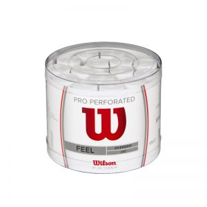 Wilson-PRO-OVERGRIP-PERFORATED-White-60-Pack