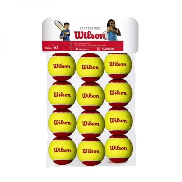 Wilson-STARTER-RED-BALLS-12-Pack