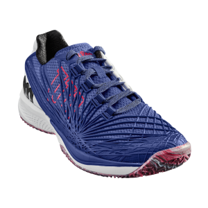 Sapatilhas Wilson KAOS 2.0 Dazzeling Blue / White / Neon Red (All Court)