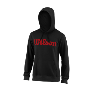 Wilson TEAM SCRIPT PO HOODY Black / Red
