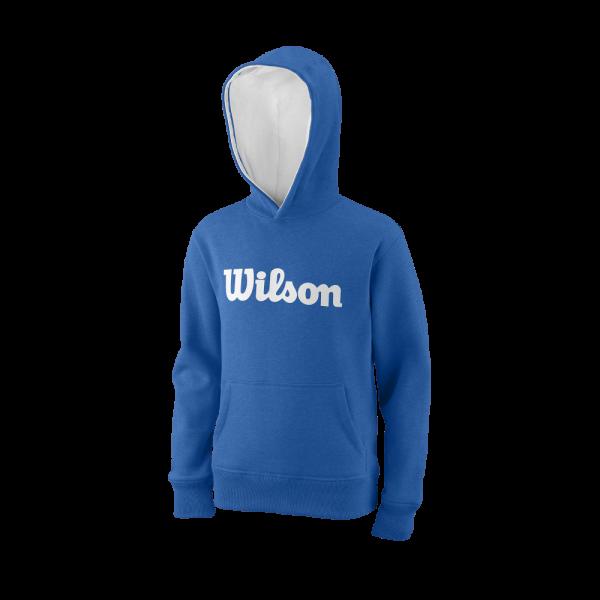 Wilson SCRIPT COTTON PO HOODY New Blue