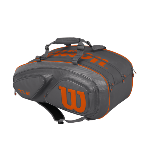 Mochila Wilson TOUR GREY COLLECTION 15 Pack Grey / Orange