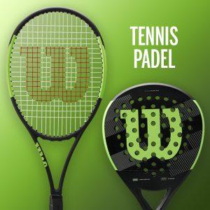 Raquetes de Ténis e Padel