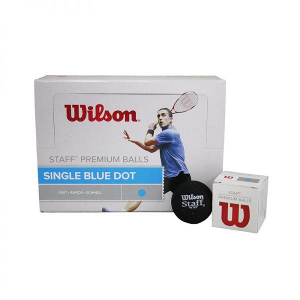 Wilson-Staff-Squash-3-blue-Ball