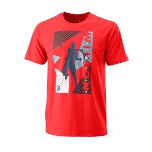 T-shirt Wilson GEO PLAY