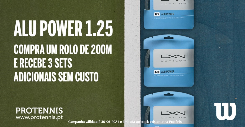 Luxilon Alu Power 3 Sets